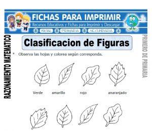 clasificacion de figuras para primero de primaria