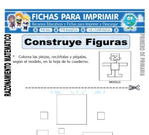 construye figuras para primero de primaria