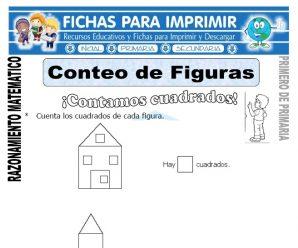 Conteo de Figuras para Primero de Primaria