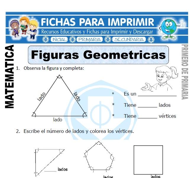 figuras geometricas para primero de primaria