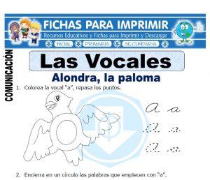 las vocales para primaria