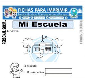 mi escuela para primero de primaria
