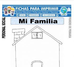 mi familia para primero de primaria