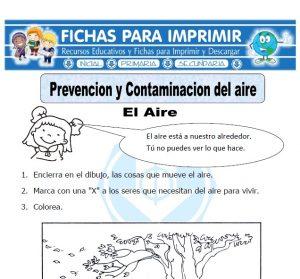 prevencion y contaminacion del aire para primaria