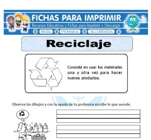 que es el reciclaje para primaria