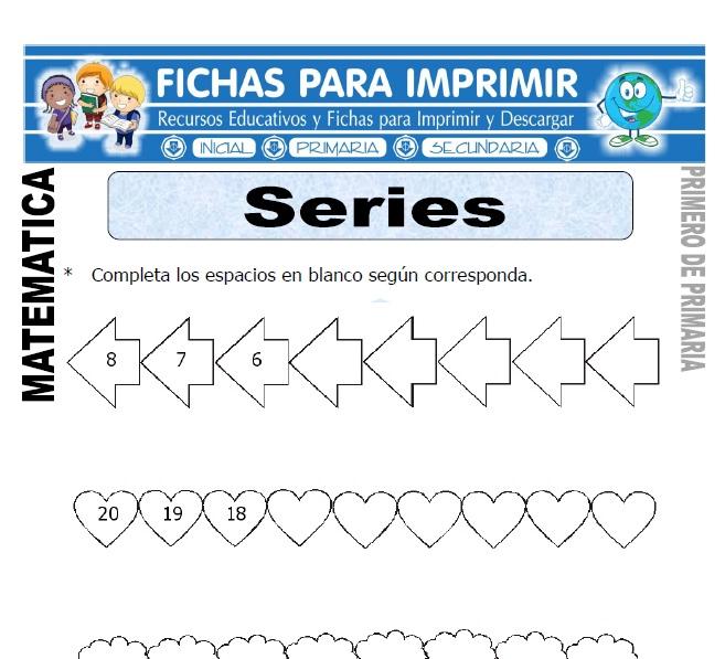 series para primero de primaria