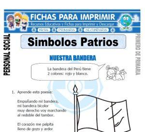 simbolos patrios para primero de primaria