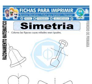 simetria para primero de primaria