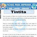 Ficha de Tintita para Primaria