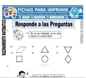 responde a las preguntas para primero de primaria