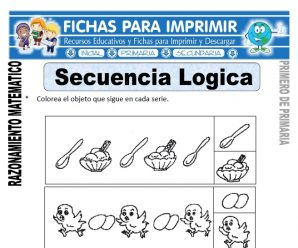 Secuencia Lógica para Primero de Primaria