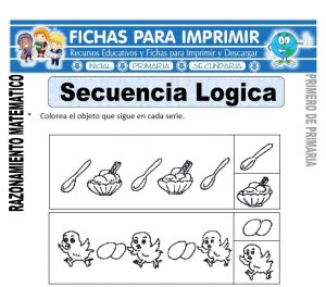 secuencia logica para primero de primaria
