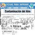 Contaminación del Aire para Segundo de Primaria