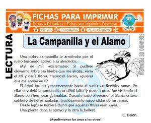 Ficha de La Campanilla y el alamo Segundo de Primaria