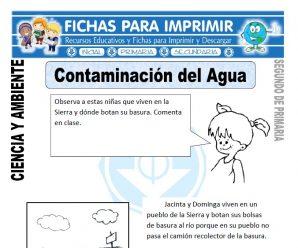 Contaminación del Agua para Segundo de Primaria