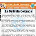 La Gallinita Colorada para Segundo de Primaria