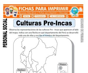 Culturas Pre Incas para Segundo de Primaria