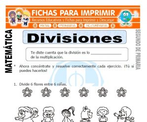 Divisiones para Segundo de Primaria