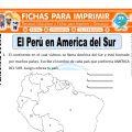 Perú en América para Segundo de Primaria