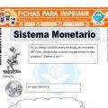 Sistema Monetario para Segundo de Primaria