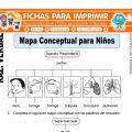 Mapa Conceptual para Niños para Segundo de Primaria