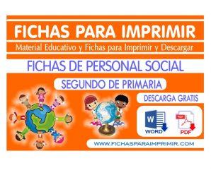 Personal Social para Niños deSegundo de Primaria