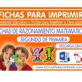 Razonamiento Matemático para Niños deSegundo de Primaria