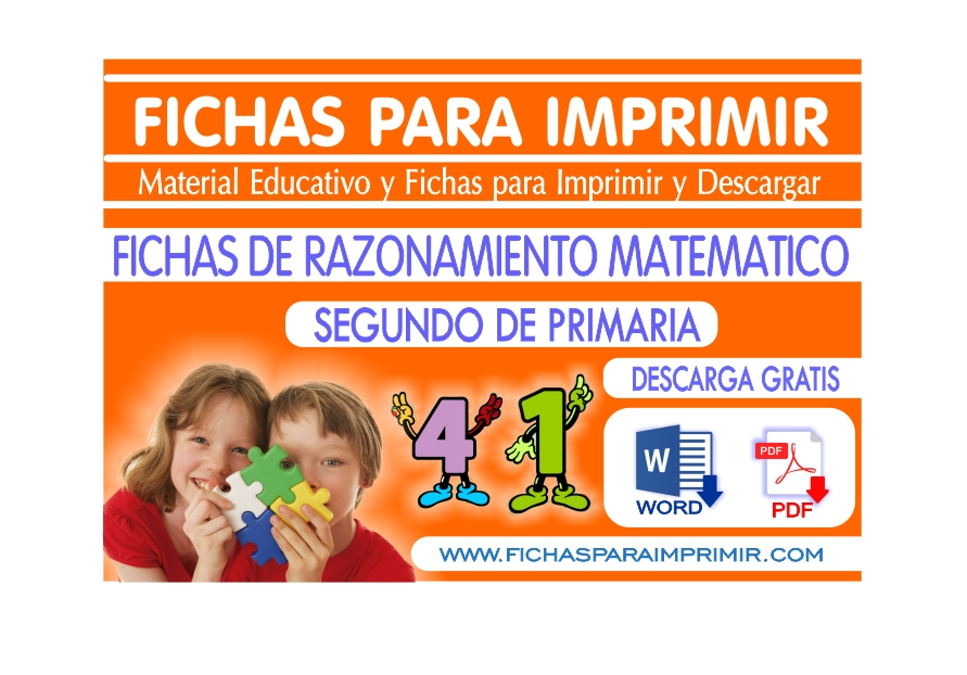 razonamiento matematico para niños segundo de primaria