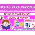 Comunicacion Integral para Niños de Quinto de Primaria