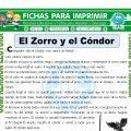 El Zorro y el Condor para Tercero de Primaria