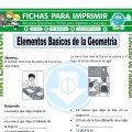 Elementos Basicos de la Geometria para Tercero de Primaria
