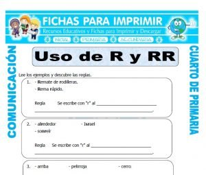 Comunicación Integral para Cuarto de Primaria | 38 FICHAS GRATIS
