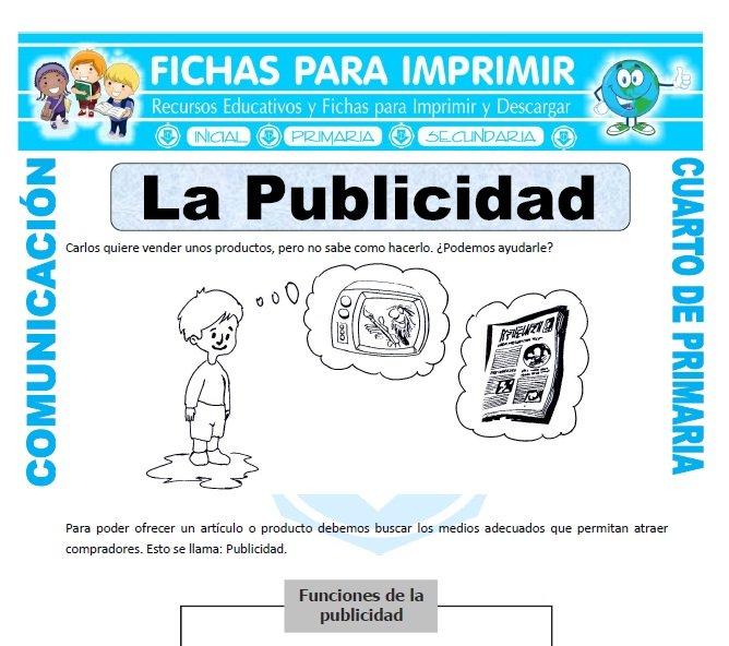 Comunicación Integral Para Cuarto De Primaria 38 Fichas Gratis