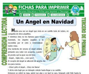 Un Angel en Navidad para Tercero de Primaria