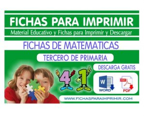 Problemas de Matematicas para Tercero de Primaria