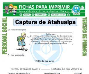 Captura de Atahualpa para Tercero de Primaria