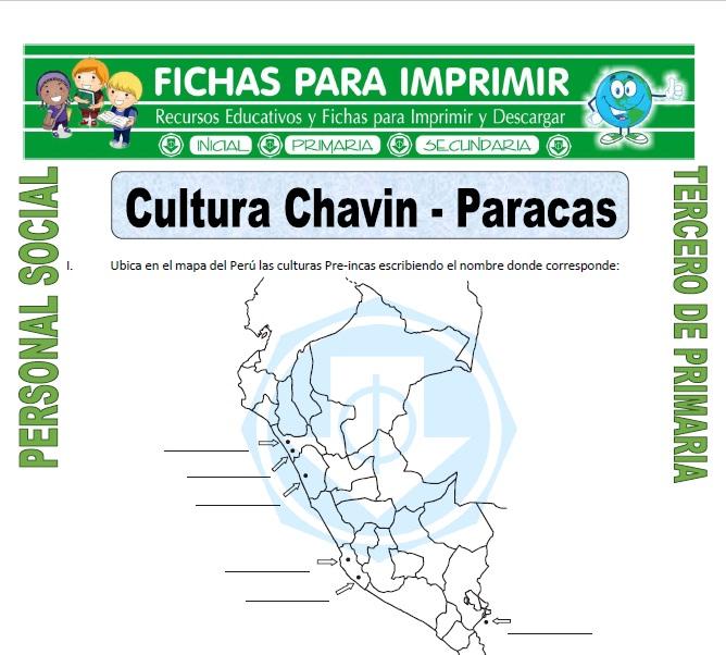 Ficha de Cultura Chavin para Tercero de Primaria