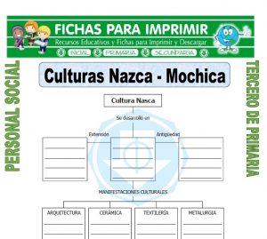 Ficha de Nazca Mochica para Tercero de Primaria