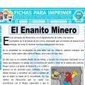 El Enanito Minero para Cuarto de Primaria