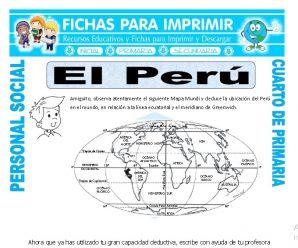 El Perupara Cuarto de Primaria