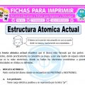 Estructura Atomica Actual para Quinto de Primaria