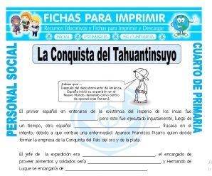 La Conquista del Tahuantinsuyopara Cuarto de Primaria