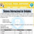 Sistema Internacional de Unidades para Sexto de Primaria