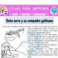 Doña zorra y su compadre gallinazo Quinto Primaria