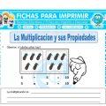La Multiplicacion y sus Propiedades Cuarto Primaria