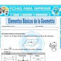 Elementos Basicos de la Geometria para Cuarto de Primaria