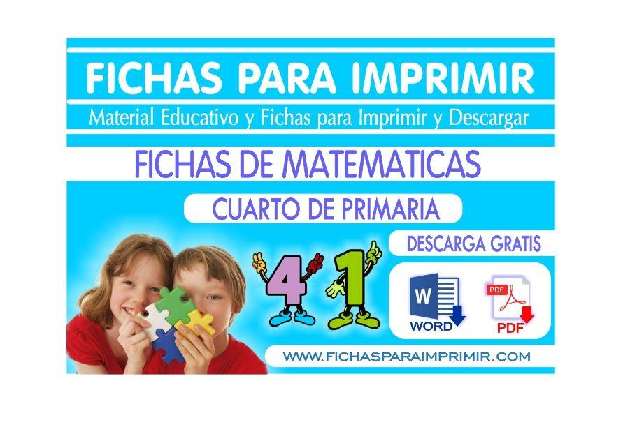 Problemas matematicos para cuarto de primaria
