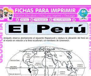 El Perú Ubicación para Quinto de Primaria