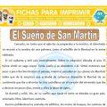 El Sueño de San Martin para Sexto de Primaria