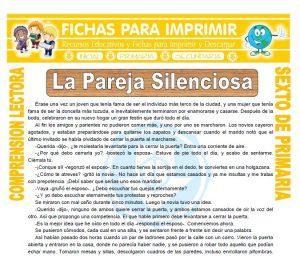 Ficha de La Pareja Silenciosa para Sexto de Primaria